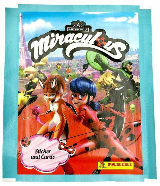 Miraculous Ladybug Sticker und Trading Cards Tüte
