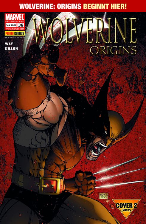 Wolverine 36 Variant