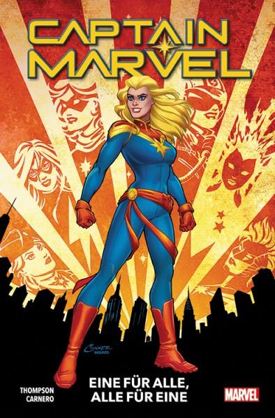 Captain Marvel 1: Eine für alle, alle für eine Cover