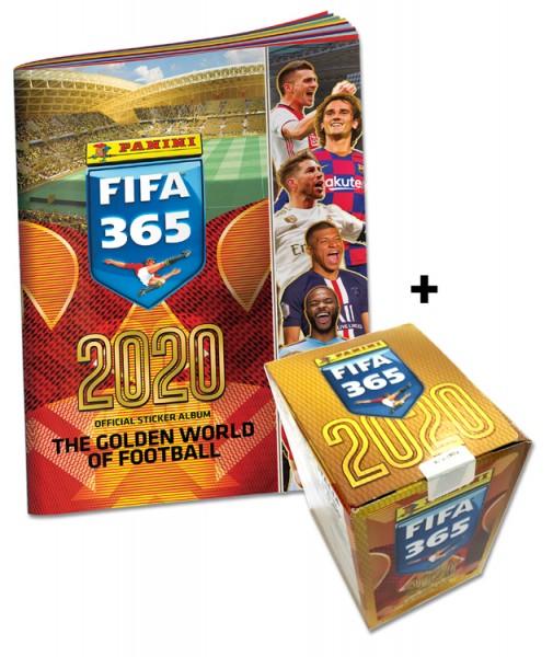 Panini FIFA 365 2020 Stickerkollektion – Sticker-Starter-Bundle