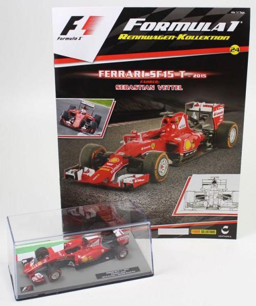 Formula 1 Rennwagen-Kollektion 24: Sebastian Vettel (Ferrari SF-15)