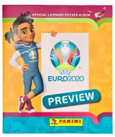 UEFA EURO 2020 - Official Sticker Preview Collection - International Album