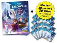 Disney: Die Eiskönigin 2 - Cristal Edition - Sticker und Cards - Sammelbundle