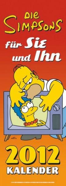 Simpsons - Paarplaner 2012