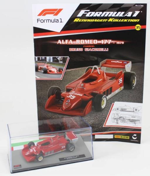 Formula 1 Rennwagen-Kollektion 35: Bruno Giacomelli (Alfa Romeo 177)
