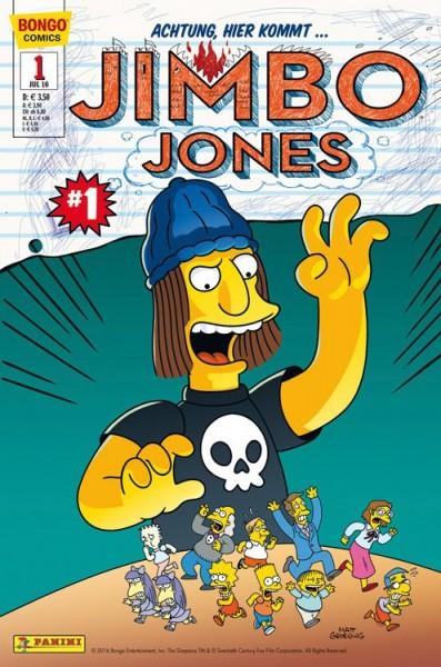 Simpsons Comics präsentiert: Jimbo Jones 1