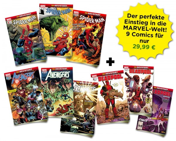 Marvel Heftserien Schnupper-Bundle Spezial