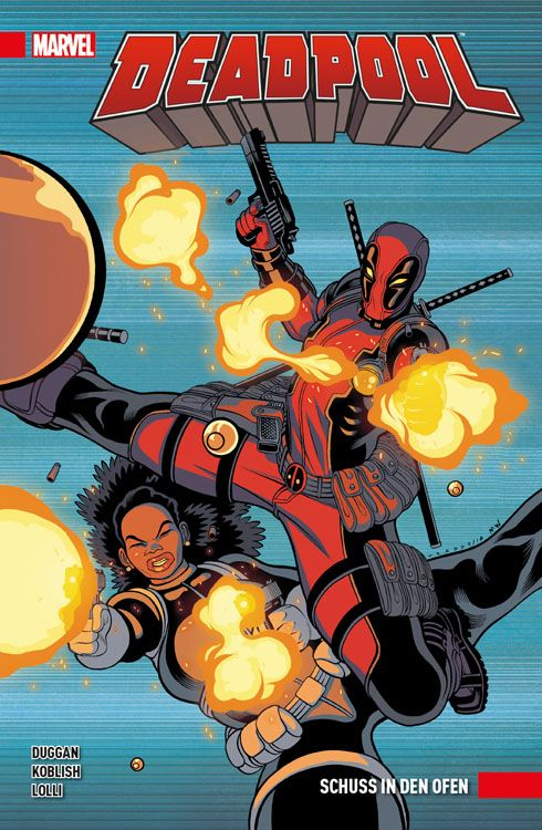 Deadpool Paperback 4 - Schuss in den...