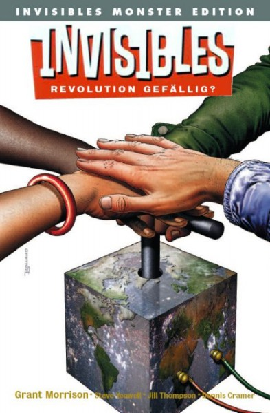 Vertigo Monster: Invisibles 1 - Revolution Gefällig?