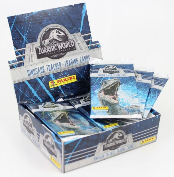 Jurassic World Movie Trading-Cards - Box