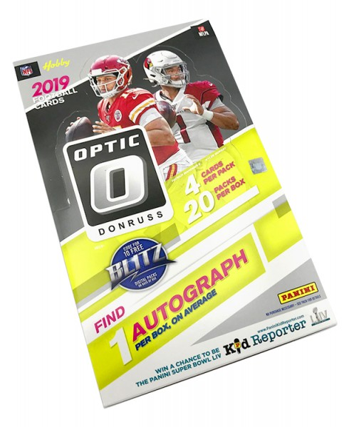 NFL 2019 DONRUSS Optic Football Trading Cards - Hobbybox