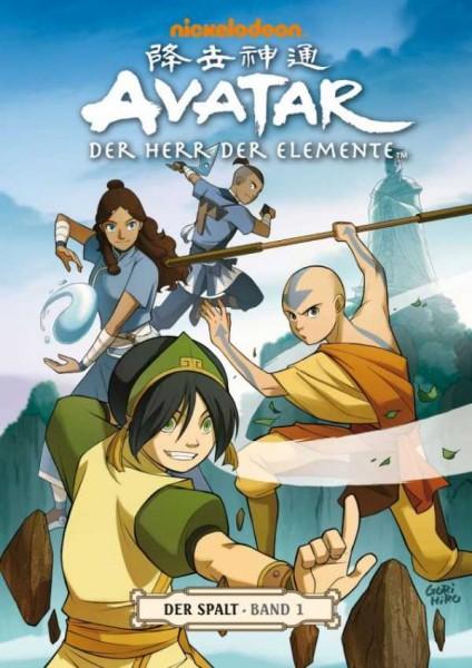 Avatar - Der Herr der Elemente 8: Der Spalt 1 - Cover