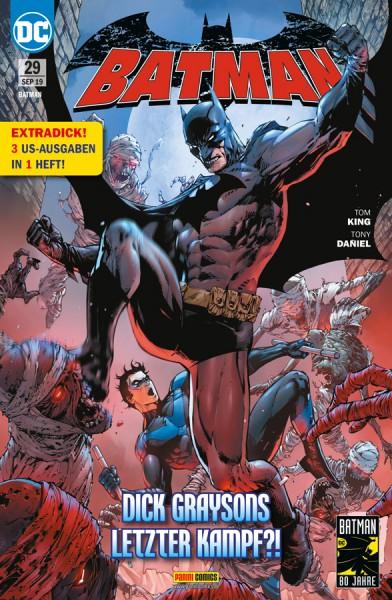 Batman 29: Dick Graysons letzter Kampf!?