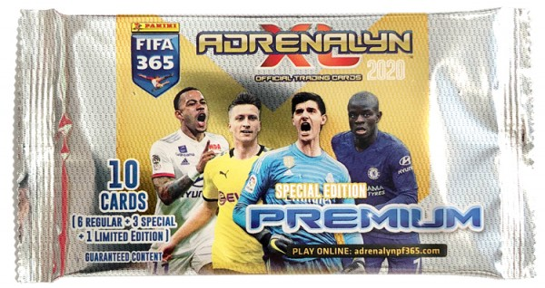 Panini FIFA 365 Adrenalyn XL 2020 Kollektion – Premium-Tüte