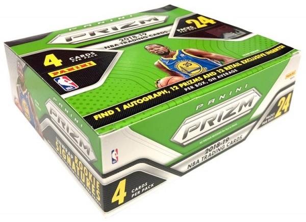 NBA 2018-19 Panini PRIZM Trading Cards - Box