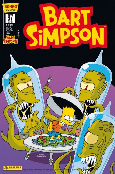 Bart Simpson Comics 97