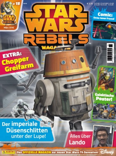 Star Wars: Rebels - Magazin 15