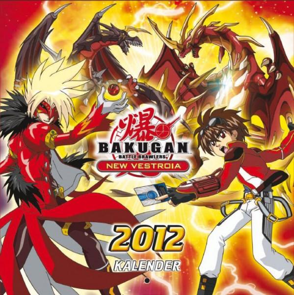 Bakugan - Wandkalender (2012)