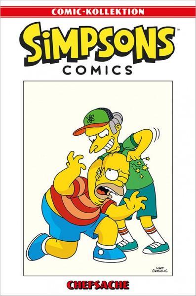 Simpsons Comic-Kollektion 59: Chefsache Cover