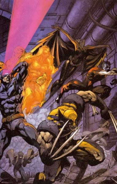 X-Men Sonderheft - X-Men & Die Fantastischen Vier - X4