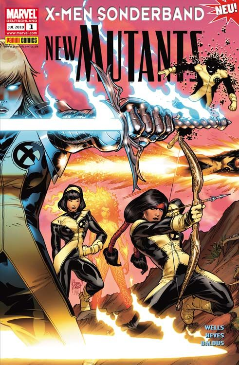 X-Men Sonderband: New Mutants 1