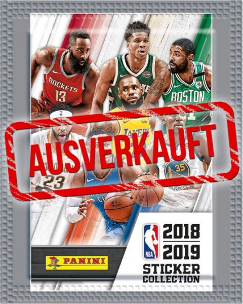 NBA 2018-2019 Stickerkollektion - Tüte - ausverkauft