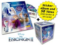 Disney: Die Eiskönigin 2 - Cristal Edition - Sticker und Cards - Box-Bundle