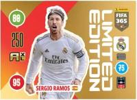 Panini FIFA 365 Adrenalyn XL 2021 Kollektion – LE-Card Sergio Ramos Vorne
