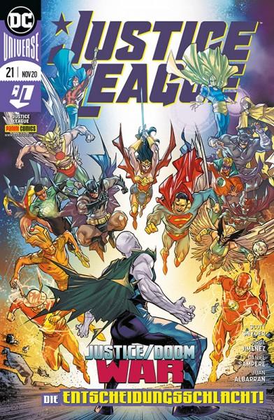 Justice League 21 - Die Entscheidungsschlacht! Cover