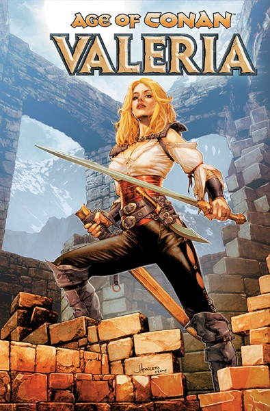 Age of Conan: Valeria Cover