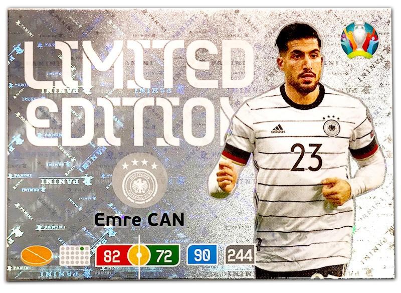 Abbildung der Euro 2020 Limited Edition Card von Emre Can