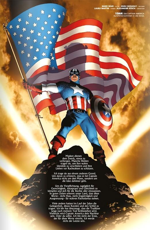Marvel Comics 1000 – Blick in den Comic Vorschauseite 1