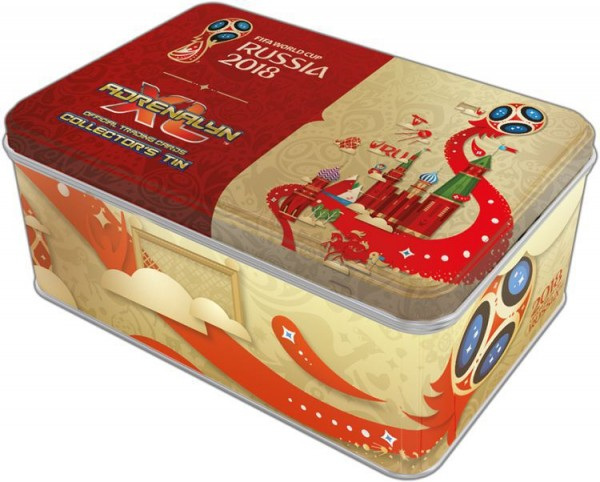 2018 FIFA World Cup Russia Adrenalyn XL - Tin Box