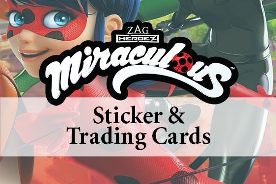 Miraculous Sticker und Trading Cards