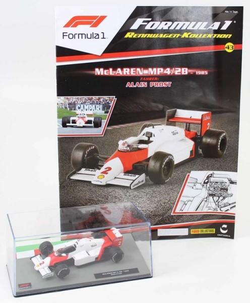 Formula 1 Rennwagen-Kollektion 43: Alain Prost (McLaren MP4/2)