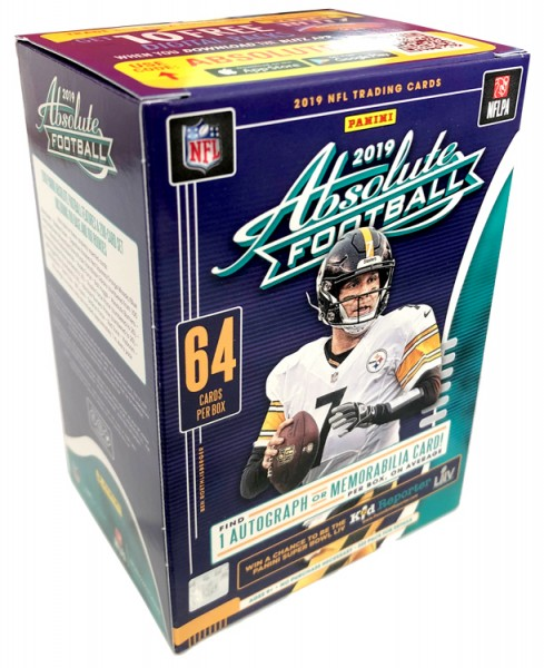 NFL 2019 Absolute Football Trading Cards - Blasterbox