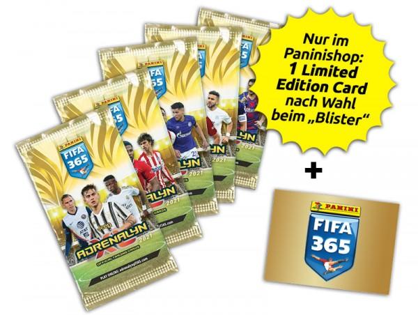 "Panini FIFA 365 Adrenalyn XL 2021 Kollektion - "" Blister """