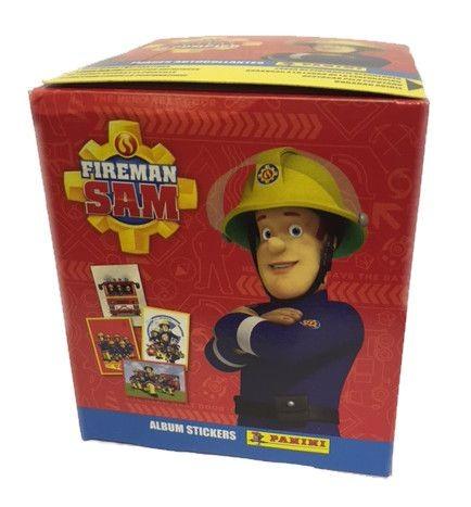 Feuerwehrmann Sam Stickerkollektion – Box