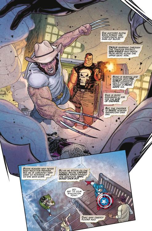 War of the Realms Blick in den Comic Vorschauseite 2