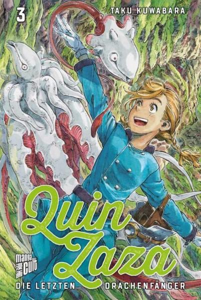 Quin Zaza: Die letzten Drachenfänger 3 Cover