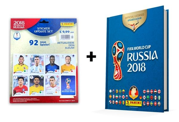 2018 FIFA World Cup Russia Stickerkollektion – Updatebundle 1
