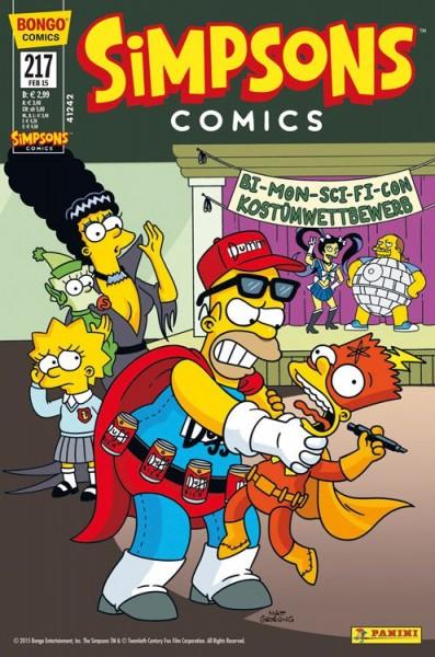 Simpsons Comics 217