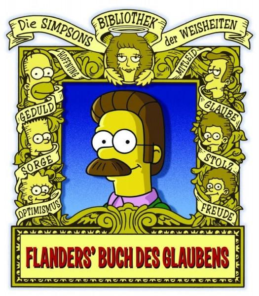Die Simpsons: Bibliothek der Weisheiten - Flanders Buch des Glaubens