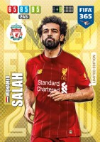 Panini FIFA 365 Adrenalyn XL 2020 Kollektion – LE-Card Mohamed Salah