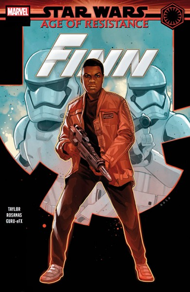 Star Wars 61: Age of Resistance - Captain Phasma & Finn - Comicshop-Ausgabe Cover