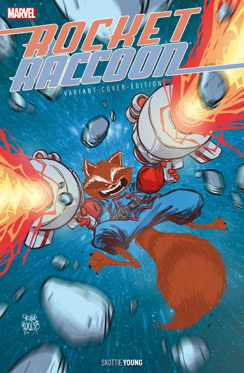 Rocket Raccoon 1 Fell-Variant