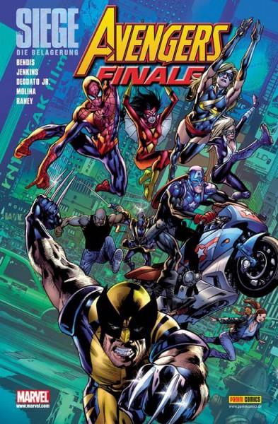 The Siege: Avengers Finale