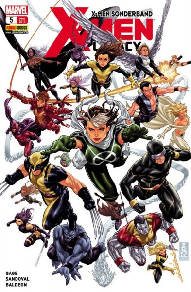 X-Men Sonderband: X-Men Legacy 5