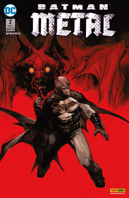 Batman Metal 2 Variant 2