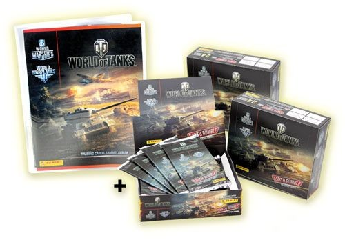 World of Tanks Trading Cards Kollektion - Mega Bundle 2